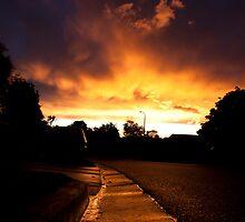 Gutter Sunset by sandralee1989