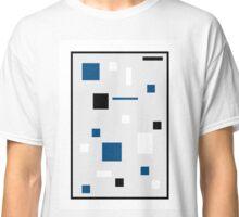 Cube Dot Blue Classic T-Shirt