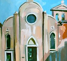 Italian Church by Filip Mihail