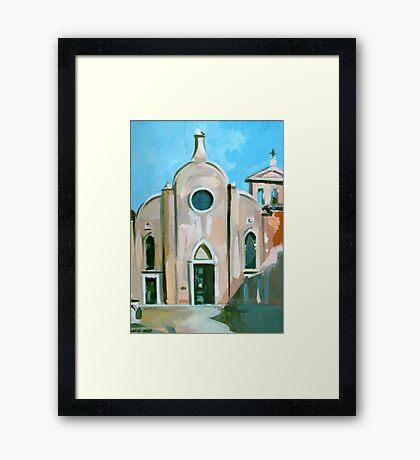 Italian Church Framed Print