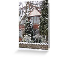 The Gingerbread House Greeting Card