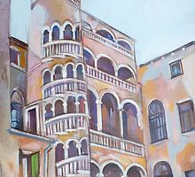 Bovolo Staircase by Filip Mihail