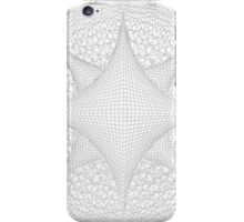 Inverted Lined Circular Diamond Geometry iPhone Case/Skin