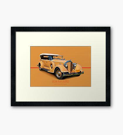 1934 Packard Touring Super Eight w/ID Framed Print