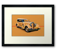 1934 Packard Touring Super Eight w/o ID Framed Print
