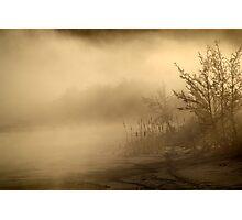 20.1.2013: Frozen Stream III Photographic Print