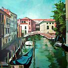 Venetian Channel by Filip Mihail