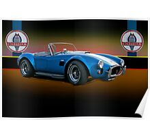 1966 Shelby Cobra 427 w/Badges Poster