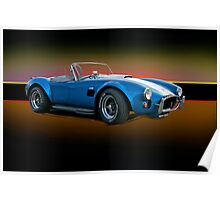 1966 Shelby Cobra 427 w/o Badges Poster