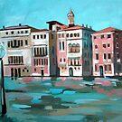 Venetian Canal by Filip Mihail