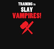 Training to Slay Vampires! Unisex T-Shirt