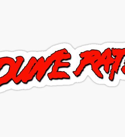 Dune Rats Logo  Sticker