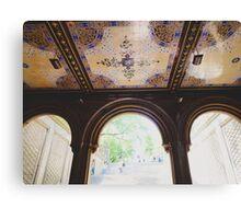 Bethesda Terrace in Central Park Canvas Print