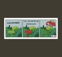 LEONARD the color-blind chameleon by Southclan