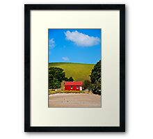 The Beach House Framed Print