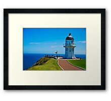 Cape Reinga Lighthouse Framed Print