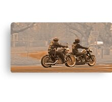 Vintage bikers Canvas Print
