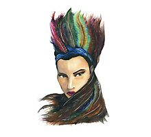 headress Photographic Print