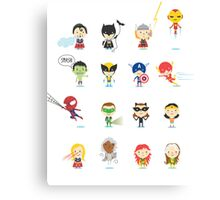 Superhero! Canvas Print