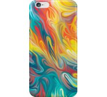 Abstract Colors II iPhone Case/Skin