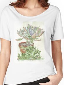 """Graptoveria """"Fred Ives"""" Women's Relaxed Fit T-Shirt"""