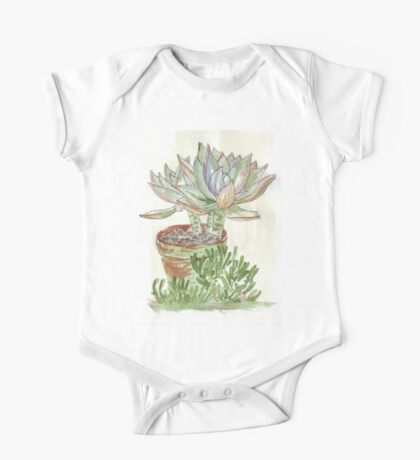 """Graptoveria """"Fred Ives"""" One Piece - Short Sleeve"""