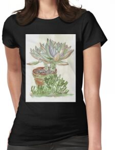 """Graptoveria """"Fred Ives"""" Womens Fitted T-Shirt"""
