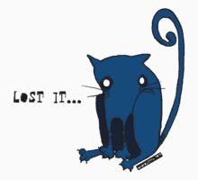 """Blue Kitty - """"Lost it...."""" by Lena Ståhl"""