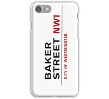 Baker street NW1 iPhone Case/Skin