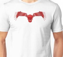 red and black tool wing and skull Unisex T-Shirt