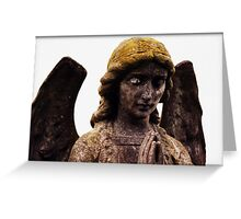 Yellow Haired Angel Greeting Card