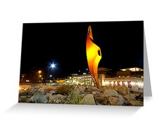 UTEP Miner Pickaxe Greeting Card