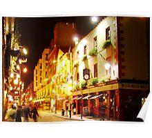 Dublin Night Poster