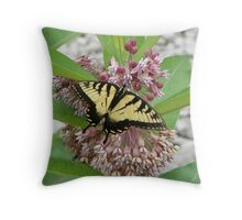Door County Eastern Tiger Swallowtail Throw Pillow