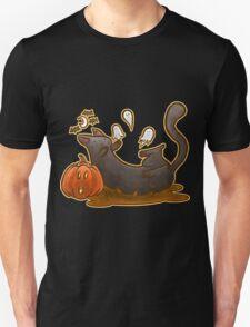 Playful Halloween Kitty T-Shirt