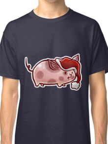 Holiday Pig Classic T-Shirt