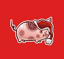 Holiday Pig Unisex T-Shirt