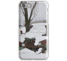 Idaho Country Christmas iPhone Case/Skin
