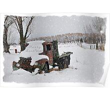 Idaho Country Christmas Poster