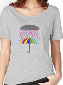Rain of Love Women's Relaxed Fit T-Shirt