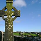 Celtic Cross by Valerie Howell