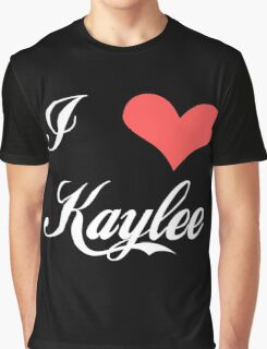 Firefly: I Heart Kaylee for Dark Backgrounds Graphic T-Shirt