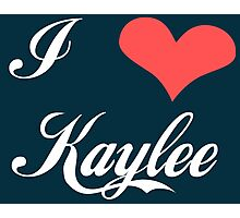 Firefly: I Heart Kaylee for Dark Backgrounds Photographic Print