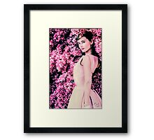 Audrey Hepburn- Queen of Kindness Framed Print