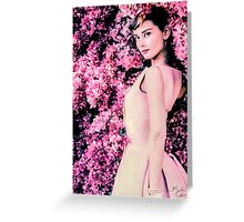 Audrey Hepburn- Queen of Kindness Greeting Card