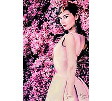 Audrey Hepburn- Queen of Kindness Photographic Print