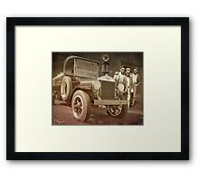 Pump Boys to Men Framed Print