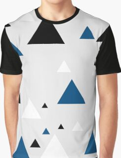 Triangle Blue - 1 Graphic T-Shirt