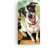 """Lola Jane on Tile"" Canvas Print"
