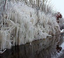 A Wall of ice by bundug